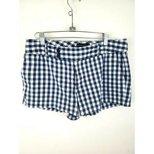 Banana Republic Gingham Plaid Chino Shorts